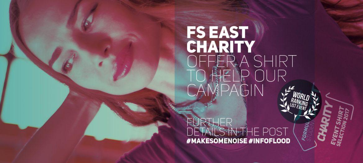FS East 2017 - Charity shirt compaing