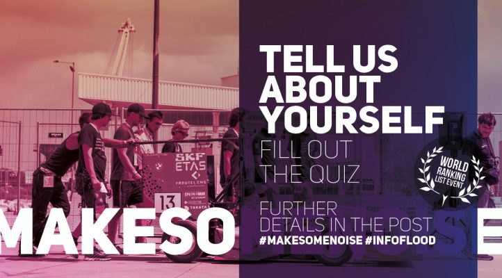 fs eAST 2107 - #makesomenoise - Tell us about yourself