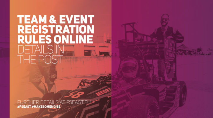 FS EAST 2018 - Registration rules online