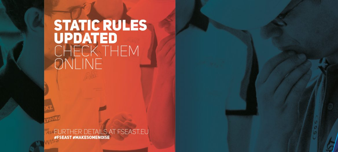 08c52c0856690f Static Event Rules update - Formula Student East